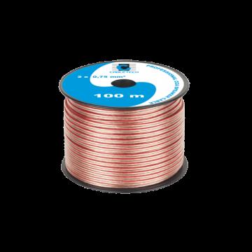 Kabel głośnikowy CCA 0.75mm